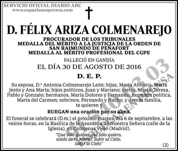 Félix Ariza Comenarejo